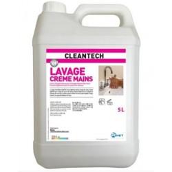 CRÈME SAVON MAINS CLEAN TECH 5 L