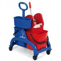 Chariot de lavage FRED 2 X 15L FILMOP