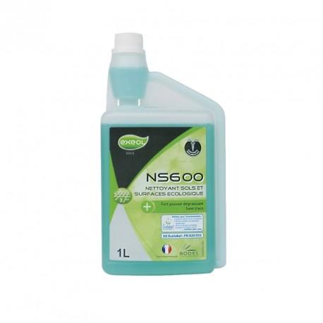 Nettoyant sols et surfaces écologique NS 600