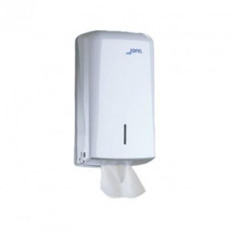Distributeur de papier toilette plat