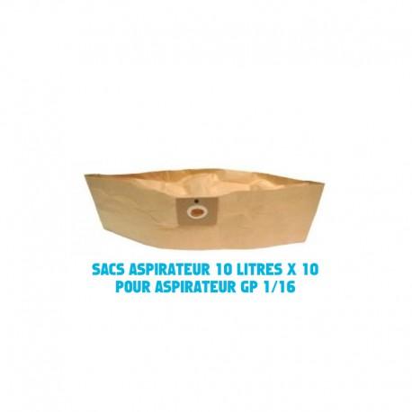 Sacs aspirateur x 10 IPC-ICA 10 litres