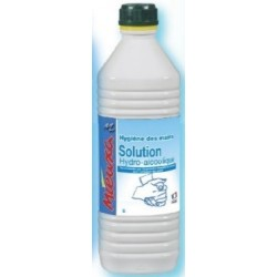 SOLUTION HYDROALCOOLIQUE 1L